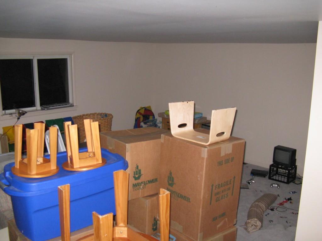 Last year, when it was also the attic.