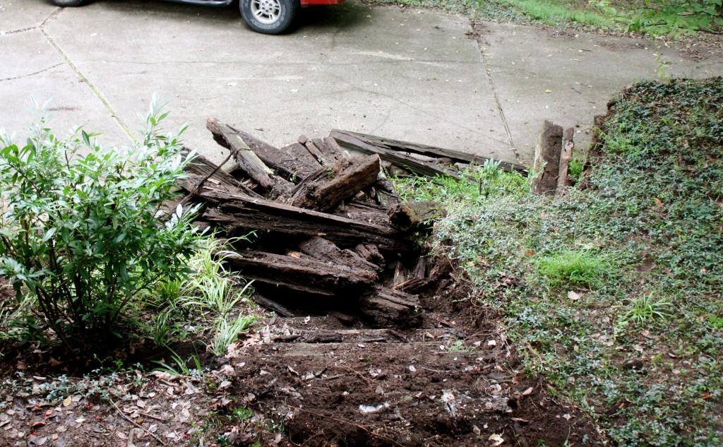 Buh-Bye Rotten Stairs