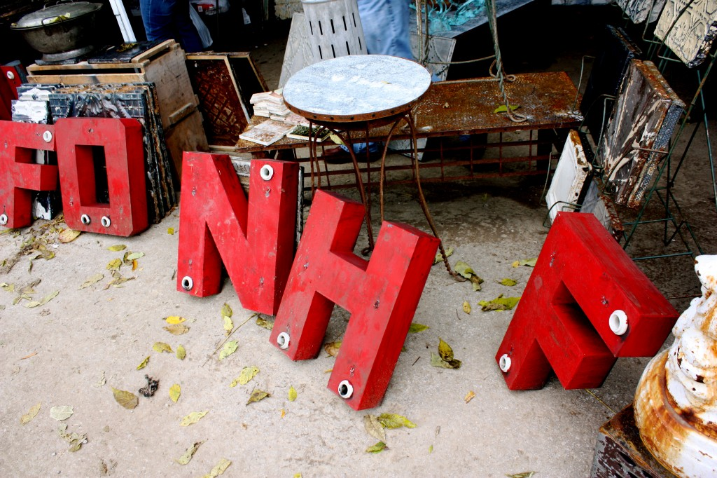 the letters at flea