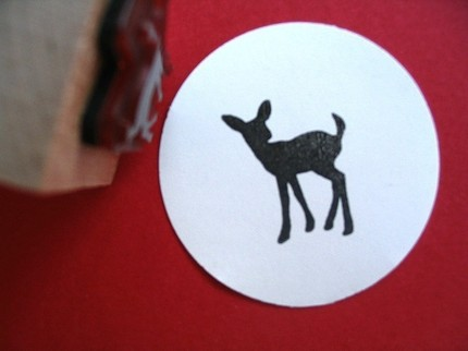 deer stamp blossom stamps etsy $4.25