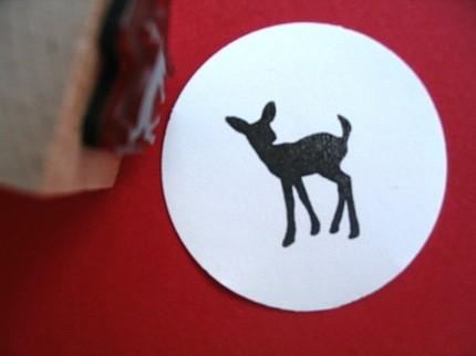 deer stamp blossom stamps etsy $4.25