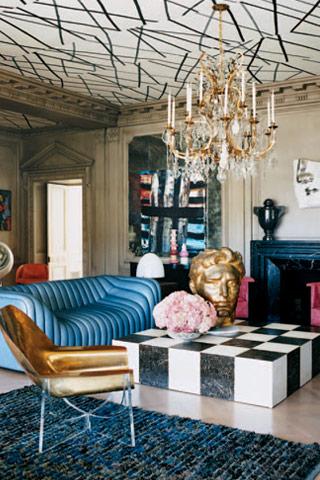 wearstler 70's couch