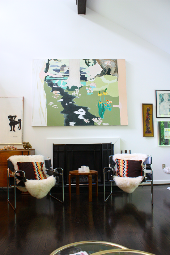 modfrugal living room