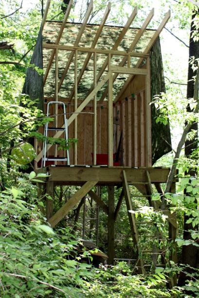 Shed Roof Treehouse M O D F R U G A L