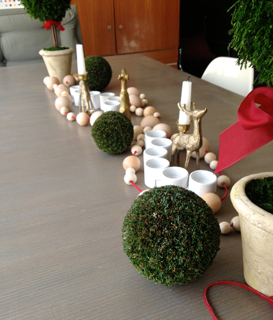 baubles on the table