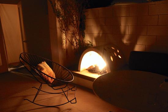Ace patio fire