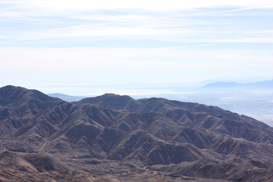 View from JT of Salton Sea
