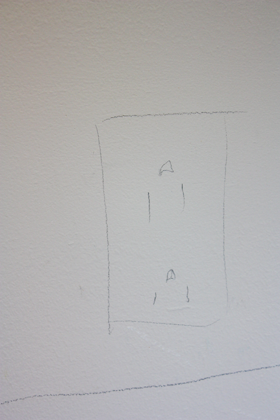 kitchen/pantry electric sketch