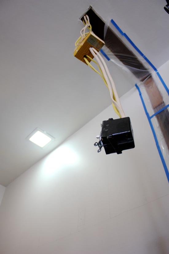 kitchen/pantry hanging electrical