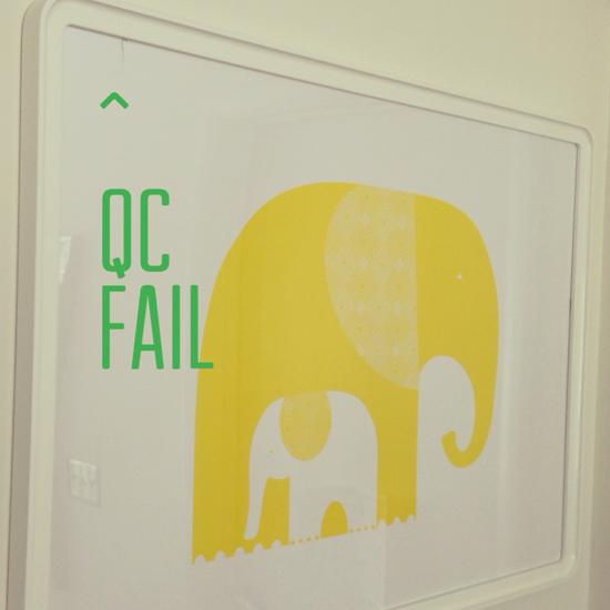 IKEA elephant print