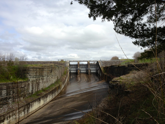 Tims Ford Dam
