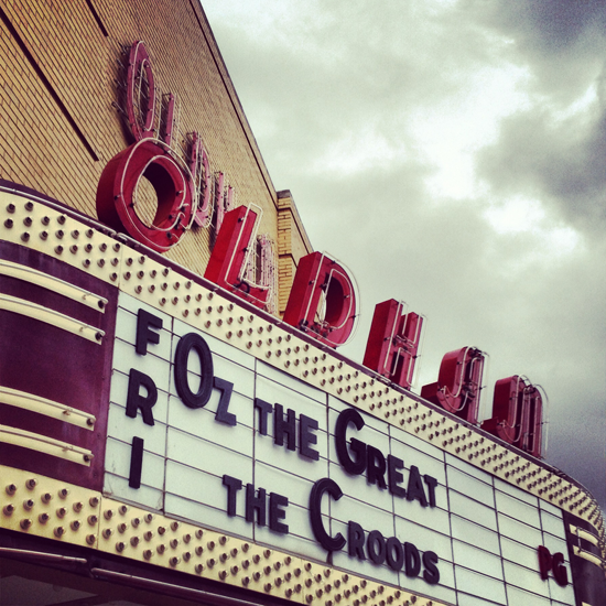 oldham theater winchester tn