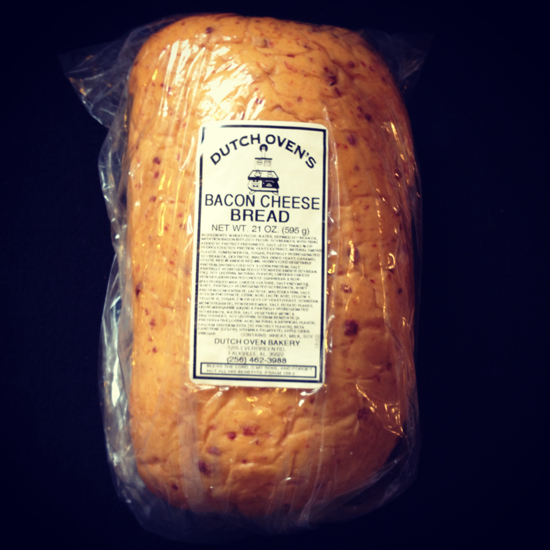 bacon cheddar bread from Swiss Pantry
