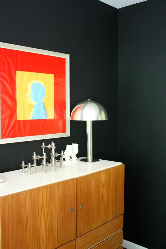 Modfrugal dining room
