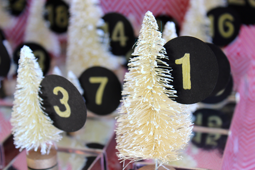Modfrugal advent calendar