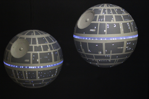 DIY Death Star Ornament