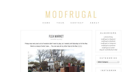 modfrugal redesign 2013