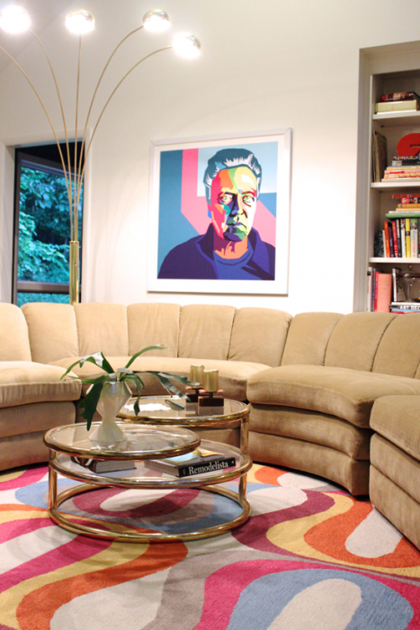 Modfrugal living room- Walken by Gina Julian