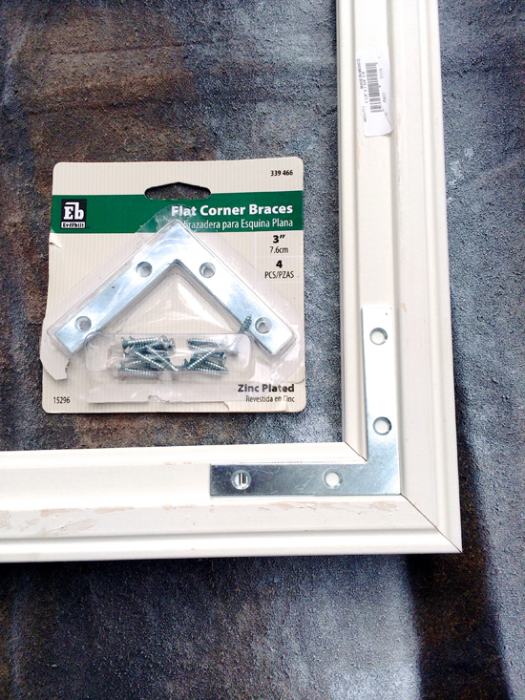 Modfrugal DIY temporary frame
