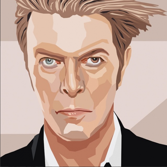 Gina Julian's David Bowie