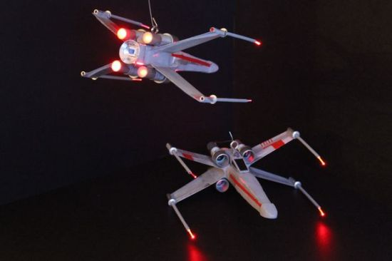 DIY X wing fighters Modfrugal