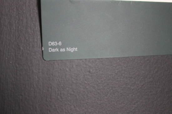 dark as night paint